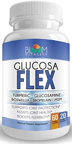 Glucosamine Chondroitin MSM Turmeric Joint Supplements for Women and Men with Triple Biflex for Fast Pain Relief