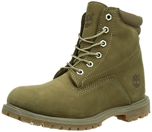 Femme Marron Waterville Bottes Timberland 6 Inch Waterproof taupe Basic xWYdd70qzw