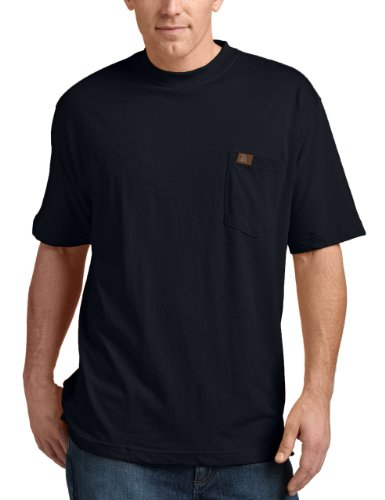 Wrangler Riggs Workwear Men's Pocket T-Shirt, Navy, XX-Large