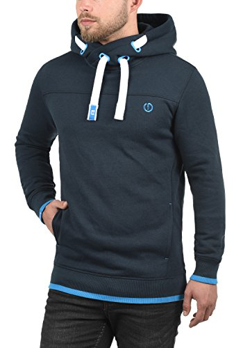 À Homme Capuche Hoodie Sweat Doublure Pour solid Blue Insignia Polaire Pull 1991 Benjaminhood ERf0nWqw