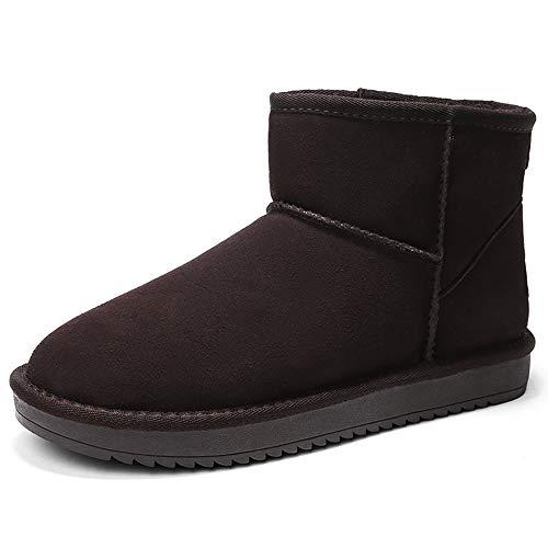 1 1 1 Hombres Nieve Zapatos Moda Botas Lydee Invierno Café qwgxH in bdac63