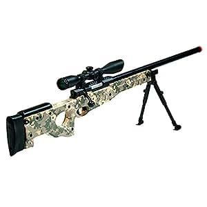 UTG Sport Airsoft Shadow Ops Sniper Rifle, Army Digital