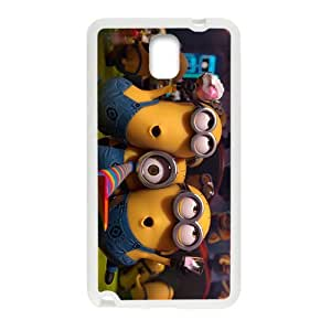 Happy Lovely Minions Cell Phone Case for Samsung Galaxy Note3