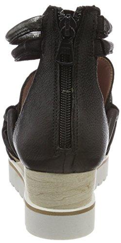 Mjus Ladies 221036-0101-6002 Sandali Con Il Cinturino Nero (nero)