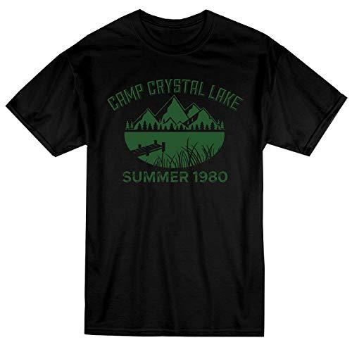 Camp Twin Lakes Halloween (VOTANTA GunShowTees Men's Camp Crystal Lake Funny Halloween)