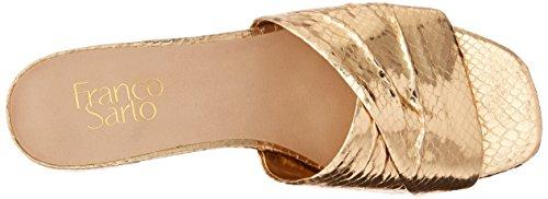 Women's Franco Sarto Gold Warm Slide Frisco Sandal zwZF5w