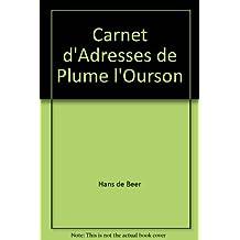 Carnet d'adresses de Plume l'ourson