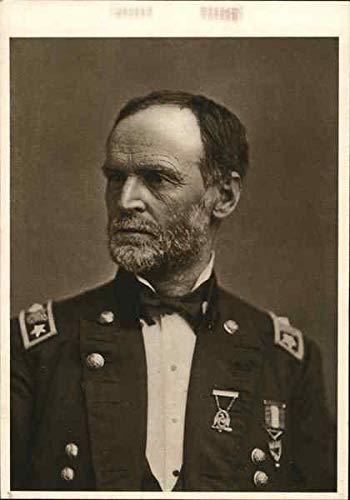 (William Tecumseh Sherman Civil War Original Vintage Postcard)