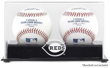 Cincinnati Reds Memory (Cincinnati Reds Two Baseball Cube Logo Display Case)