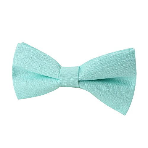 Aqua Aqua Tie Wedding for Groomsmen Bow Neckties Blush Linen Ties Bowties Blush Bow 7wBXqdxv