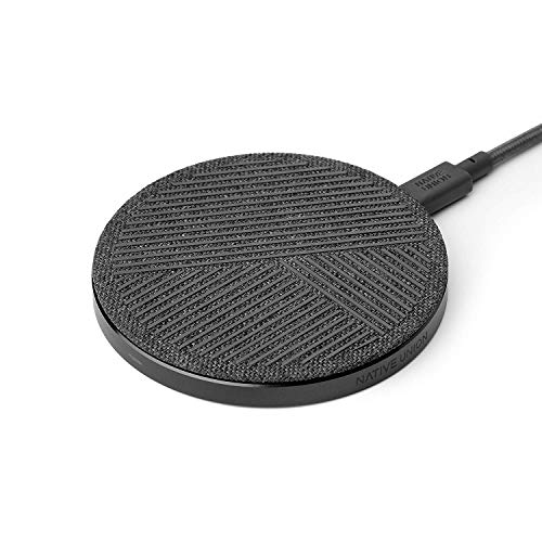 Native Union Drop Wireless Charging Pad, Slate, Grey, One Size (Best Iphone Charging Pad)
