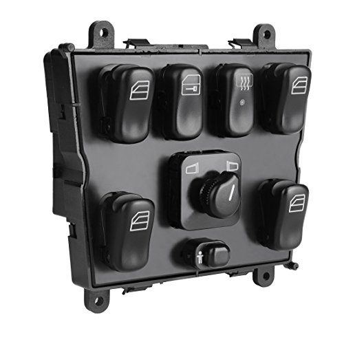 Power Window Switch 1638206610 for Mercedes Benz W163 ML320 ML430 ML500 ML55 AMG 1998-2003 Mirror Switch Door Lock