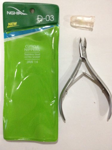 Nghia Stainless Steel Cuticle Nipper C-04 (Previously D-03) Jaw - Jaw 4 Nipper Cuticle 1/4
