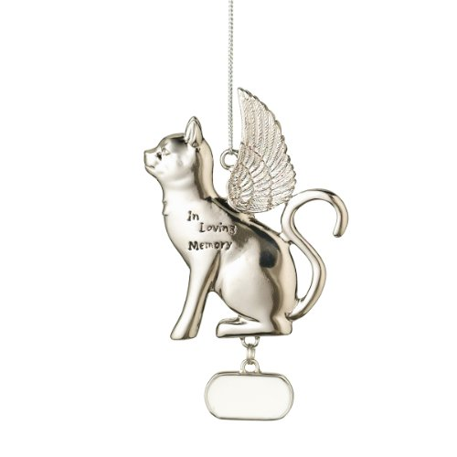 Midwest CBK Personalizable Memorial Cat Christmas Ornament (Personalizable Ornament)
