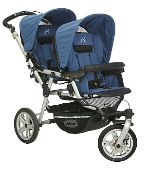 Amazon.com : Jane Powertwin in Azulon : Tandem Strollers : Baby