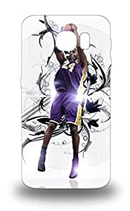 S6 Awesome 3D PC Case Cover Compatible With Galaxy S6 NBA Los Angeles Lakers Kobe Bryant #24 ( Custom Picture iPhone 6, iPhone 6 PLUS, iPhone 5, iPhone 5S, iPhone 5C, iPhone 4, iPhone 4S,Galaxy S6,Galaxy S5,Galaxy S4,Galaxy S3,Note 3,iPad Mini-Mini 2,iPad Air )