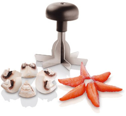(Paderno World Cuisine Six Part Cutter, 3 3/8