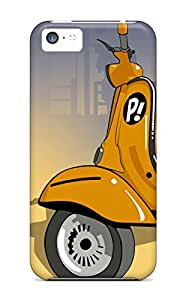 New Style Case Cover HDJhxEV1719qizdz Vespa Scooter Cartoon Compatible With Iphone 5c Protection Case