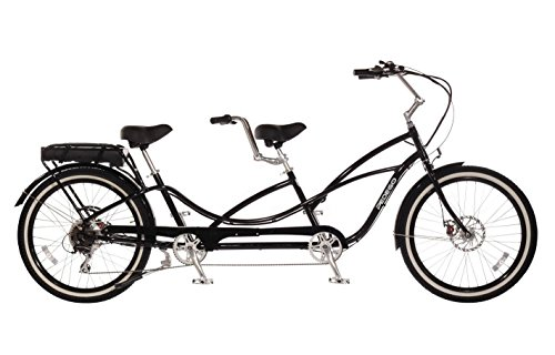 Pedego Tandem Black with White Wall Tires 48V 15Ah