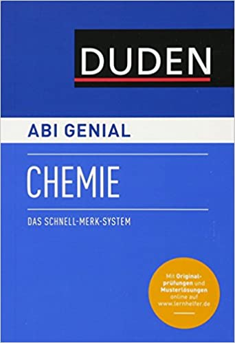 Abi genial Chemie: Das Schnell-Merk-System Duden SMS - Schnell-Merk ...