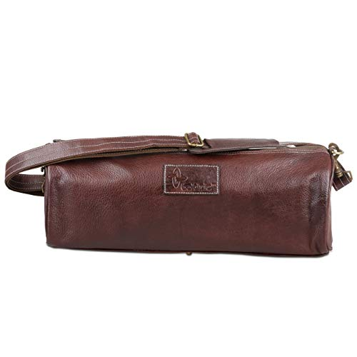 Boldric Chefs Tool Bag Brown Leather – 3 Pockets