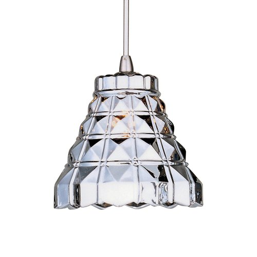 ET2 Lighting EP96001-20SN Minx Crystal RapidJack Mini Pendant ()