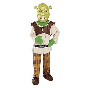 Deluxe Child Shrek Costume - Medium (8-10)