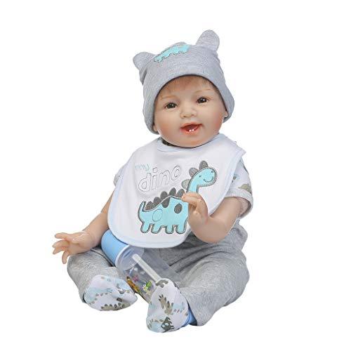 ShapeW Newborn Nursery 8 Piece Layette Baby Doll Gift Set, Featuring 22'' Life-Like Original Newborn Doll by ShapeW