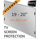 19 - 20 inch Anti-blue Light Vizomax Computer Monitor / TV Screen Protector Filter for LCD