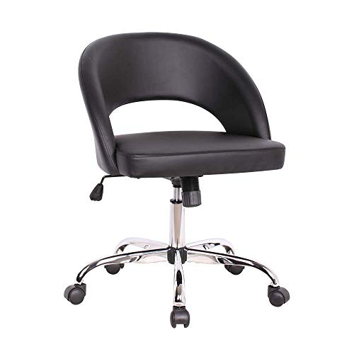Sidanli Home Office Chair Ergonomic, Adjustable Desk Chair-Black