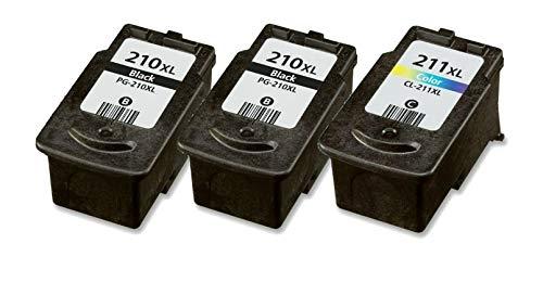 Amazon.com: 3 Pack PG 210 x l cl 211 x l Cartucho de tinta ...