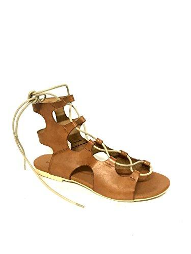 Mainapps Pelle Donna Nero Tacco Shoes Sandali Alla Italy Basso In Zeta Vera Schiava Made Op7xw0F