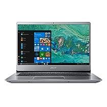 Acer Swift 3 SF314-54-8918 Notebook con Processore Intel Core i7-8550U, RAM da 8 GB DDR4, 256 GB SSD, Display da 14 FHD, Silver