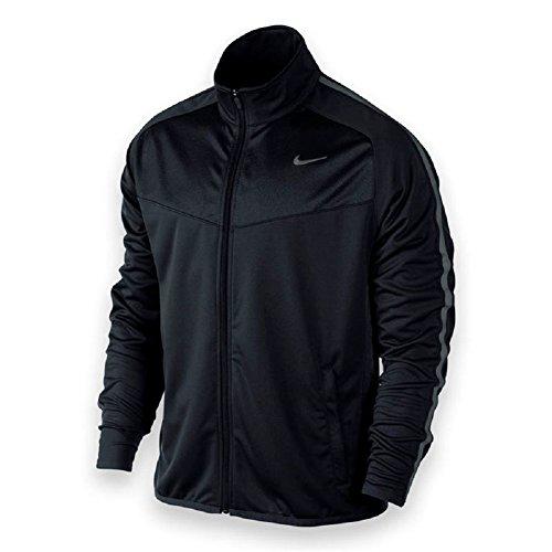 Nike Mens Epic Training Jacket, Black/Cool Grey, Medium ()