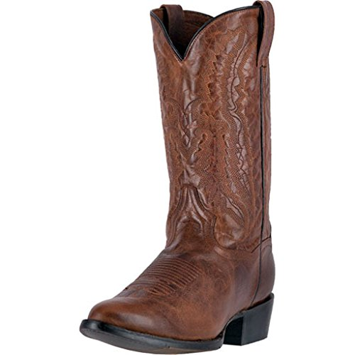 Mens 12' Dan Post - Dan Post Men's 12'' Cash Round Toe Western Casual Boots, Brown Leather, 9.5 D