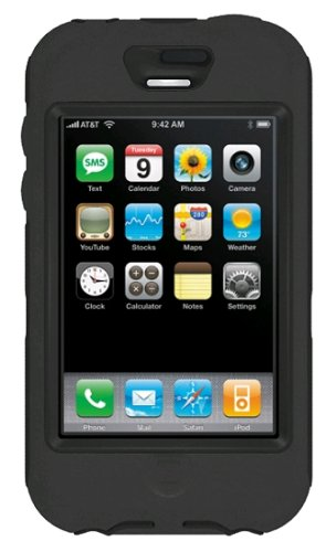 OtterBox Defender Case - Case for cellular phone - silicone, polycarbonate - black - Apple iPhone 1G (Not compatible with iPhone 3G/ iPhone 3G S)
