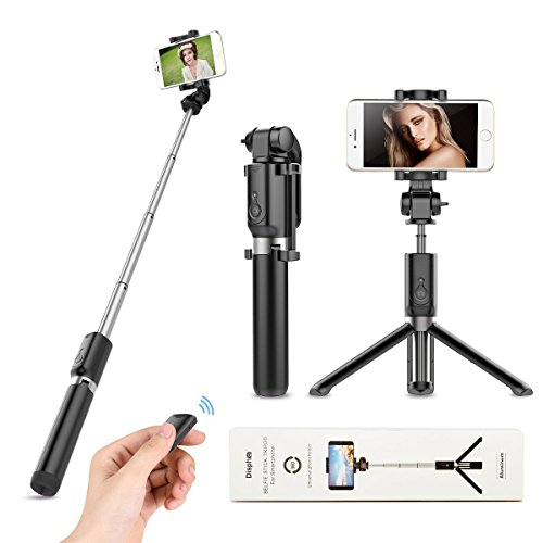 Selfie Stick Tripod Bluetooth Remote product image