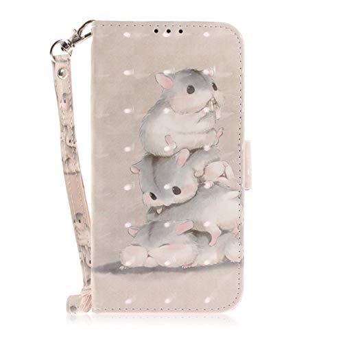De Case 5 Support Inch Three Pour Design 6 Max Housse Squirrels Iphone Coque Xs Inshang Wallet Fonction Iphonex 6 Cover 5inch Intégré Avec OqRCxH