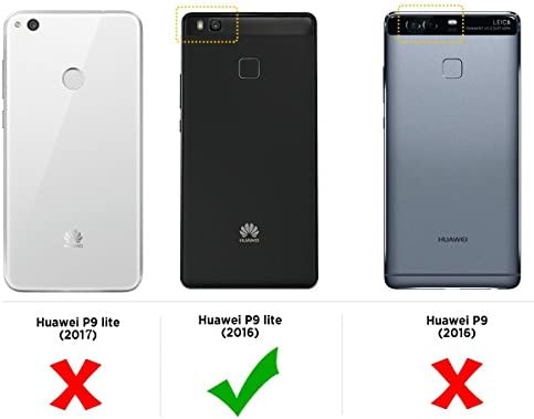 Mulbess Funda para Huawei P9 Lite, Funda Cartera Huawei P9 Lite ...