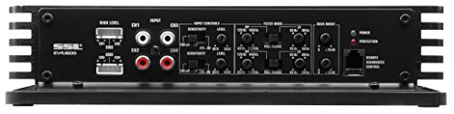 Sound Storm EV4.1600 Evolution 1600 Watt, 4 Channel, 2 to 8 Ohm Stable Class A/B, Full Range, Bridgeable, MOSFET Car Amplifier with Remote Subwoofer Control by Sound Storm Laboratories (Image #3)