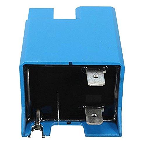 1pc Plastic Metal Blue Spark Ignition Module Intensifier Blue RI 120A-1 Model 120Vac 60Hz 3mA Durable Integrated Circuits Module