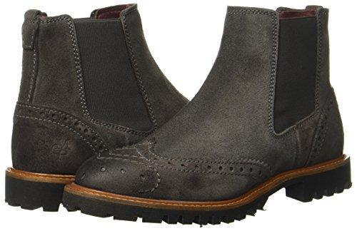 Marc Para 11025001301 Boot Mujer O'polo Chelsea Botas Gris Grey De Cuero dark BZqTBUrxw
