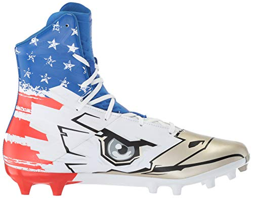 Pictures of Under Armour Men's Highlight MC - Limited Edition Football Shoe, Black (001)/White, 9 3