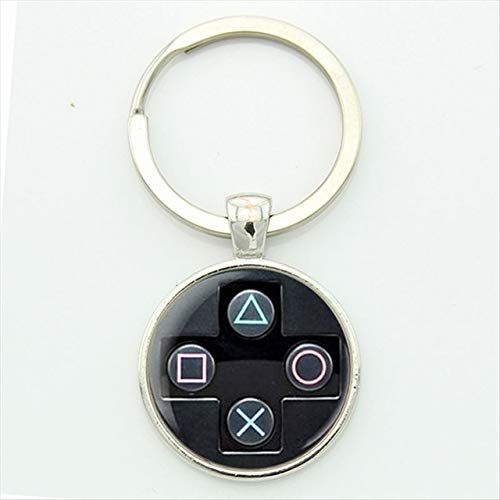 (Key Tags & Chains,1PC Game Controller Key Chain Boyfriend Idea Jewelry Video Key Tags & Chains,1PC Game Controller Pattern Keychain -)