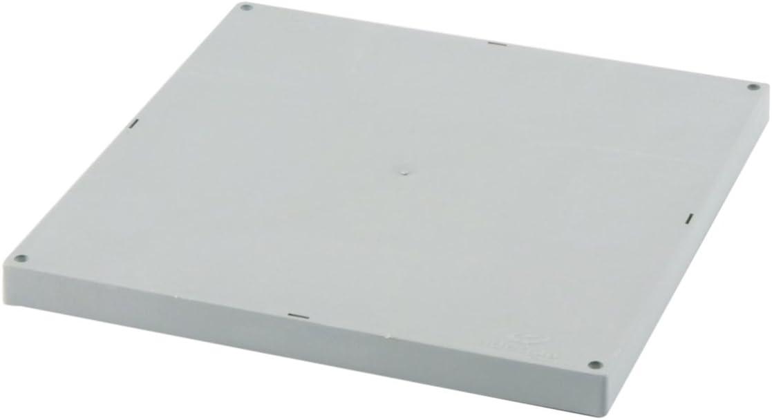 Adequa TAR-4040-G Tapa Reforzada, Gris, 40 x 40 cm