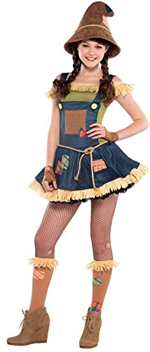 [Teen Sweet Scarecrow Costume - L] (Scary Scarecrow Halloween Costumes)