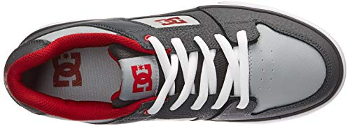 Pictures of DC Pure Elastic Skate Shoe Grey 11. ADBS300350 Grey 2