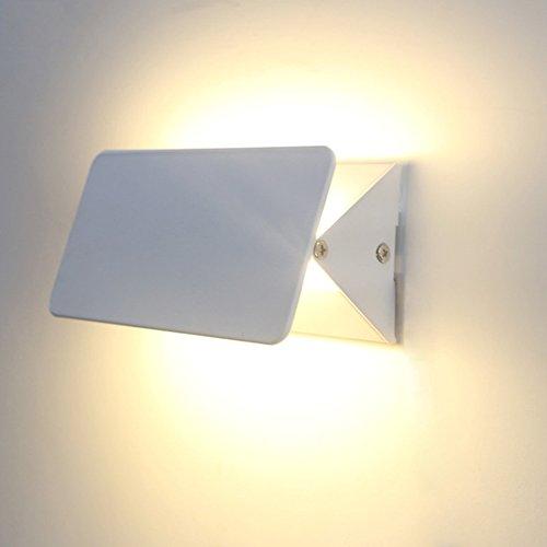 @Wandleuchte Moderne Wandleuchte Aluminium LED Korridor Eingang Lichter Kreative Persönlichkeit Wohnzimmer Korridor Schlafzimmer Wand Lampe Wandlampe (Größe   31cm)