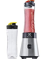Electrolux Good To Go Sportsblender, Modell ESB2500, Löstagbara Knivar, 300 W, Två BPA-fria Plastflaskor, Rostfritt stål