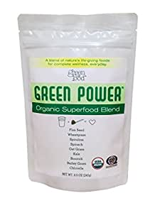 Organic Greens Blend by GreenLifeFood - 100% Raw Ingredients